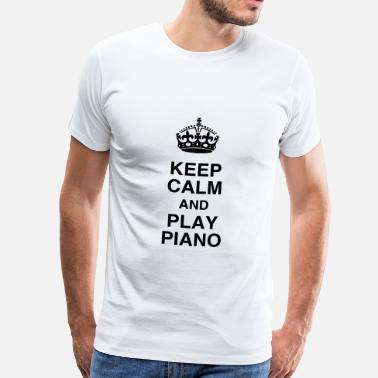 Piano Piano - Pianist - Music - Musik - Musique - Men's Premium T-Shirt