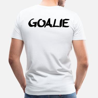 Floorball goalie - Mannen Premium T-shirt