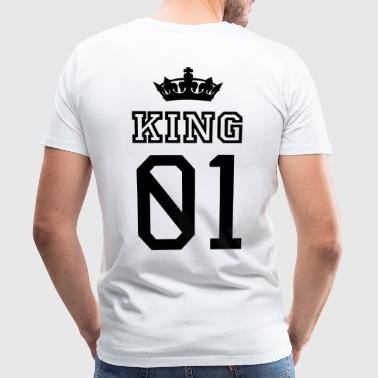 KING - Herre premium T-shirt