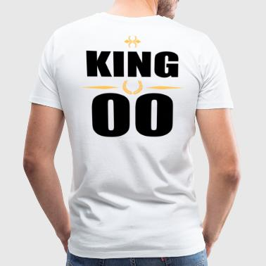 King King - Premium T-skjorte for menn