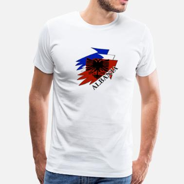 Jam Shqiptar Albania on France - Männer Premium T-Shirt