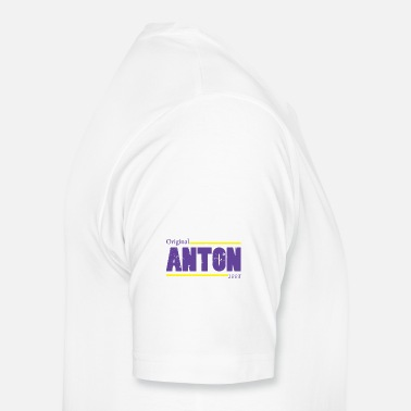 Slogan Yoga Anton T-Shirt Name Child Birthday Gift - Men's Premium T-Shirt