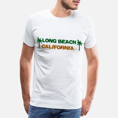 I Love La Long Beach California - Men's Premium T-Shirt