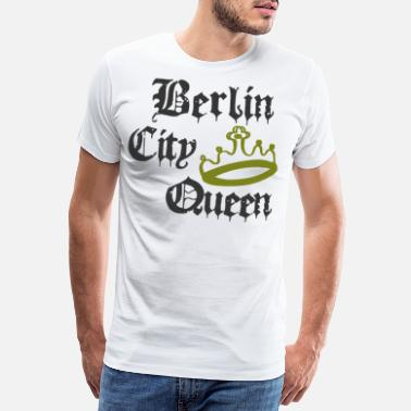 Diadem Berlin City Queen - Premium T-shirt herr