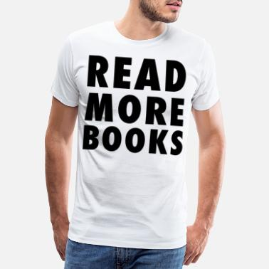 Murder Mystery Read More Books - Men's Premium T-Shirt