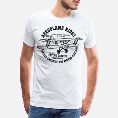 Airline Pilot airplane gift T-shirt - Men's Premium T-Shirt