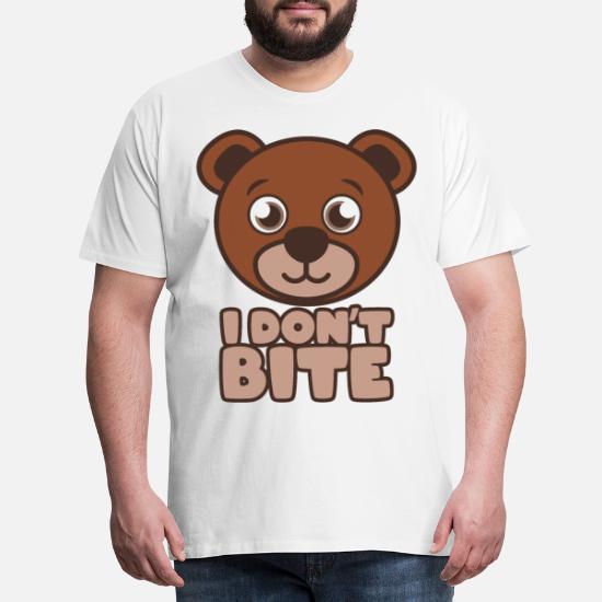 T shirt ich beisse nicht