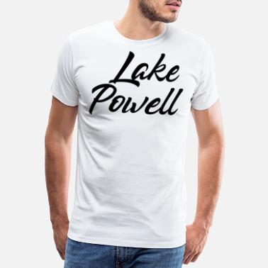 Arizona LAKE POWELL - Männer Premium T-Shirt