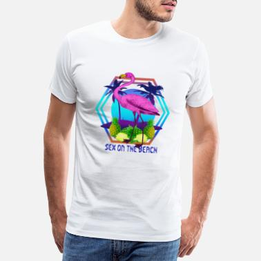 Sex On The Beach Flamingo Sex On The Beach - Premium T-shirt herr