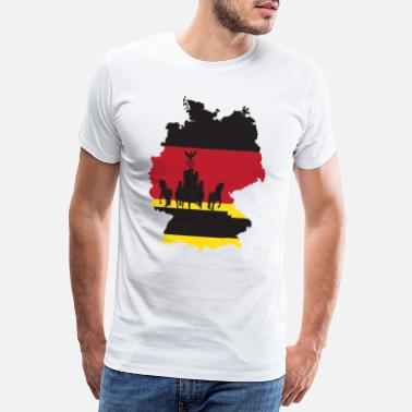 Murets Fall Day of German Unity 1990 German Unity - Premium T-skjorte for menn