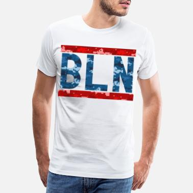 I Love Berlin Camouflage BLN - T-shirt premium Homme
