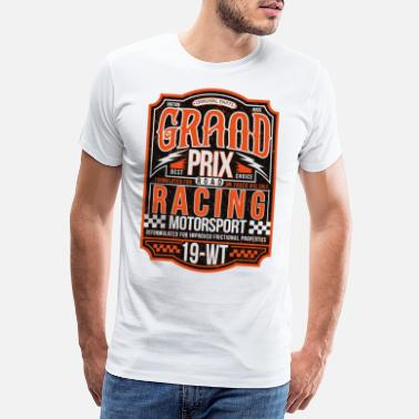 Accent Grand Prix Racing - T-Shirt for motorsport fans - Men's Premium T-Shirt