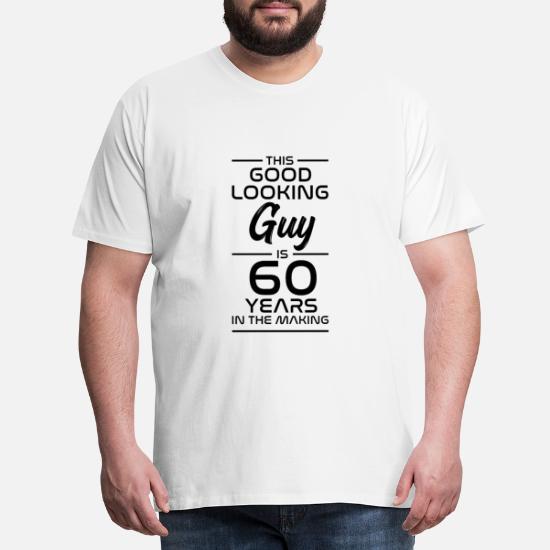 Idée Cadeau Cadeau 60e Anniversaire 60 Ans T Shirt Premium
