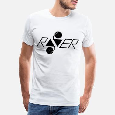 Dance Club Raver logo - Men's Premium T-Shirt