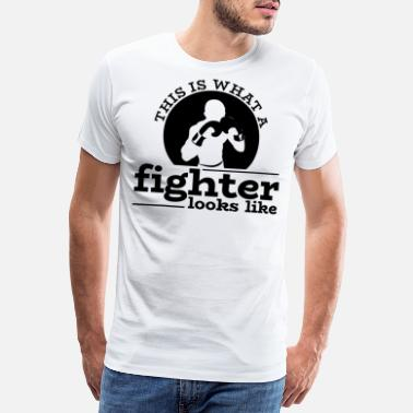 Knock Out Boxer Boxing Boxing Boxing Martial Arts Gift - Men's Premium T-Shirt