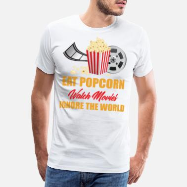 Hollywood Movies Kino Action Film Horror Kinofilm Geschenk - Männer Premium T-Shirt