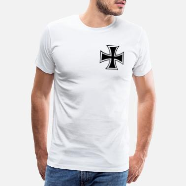 Jerusalem iron_cross - Men's Premium T-Shirt