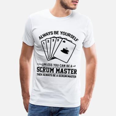 Program Scrum Master Agile Software Development - Men's Premium T-Shirt