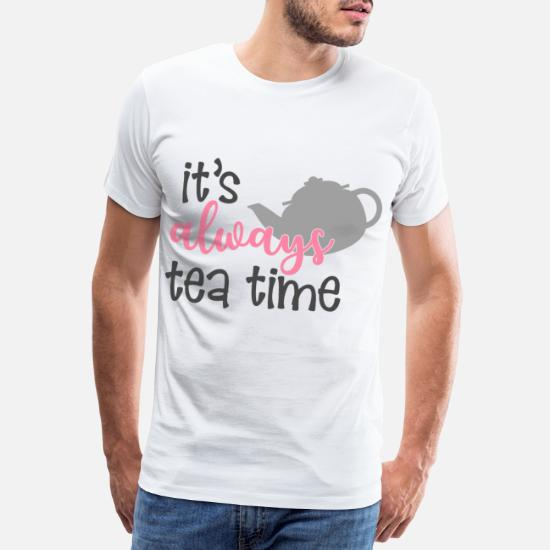 Te te tid T skjorte for menn | Spreadshirt