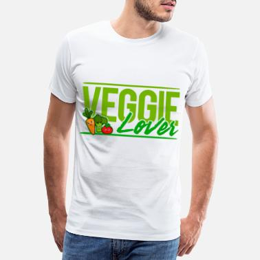 Vegan Vibes Vegan - Veggie Lover - Men's Premium T-Shirt