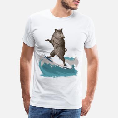 Cool Severn Boar - Men's Premium T-Shirt