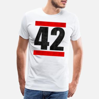 Hitch 42 The Answer To Everything The answer to everything - Men's Premium T-Shirt