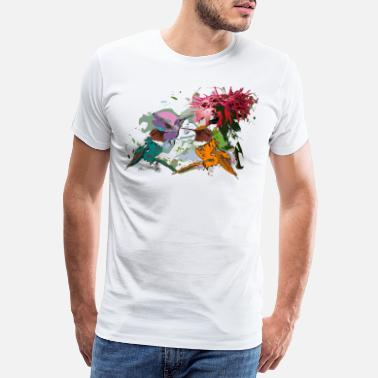 Hummingbird Hummingbirds - Men's Premium T-Shirt