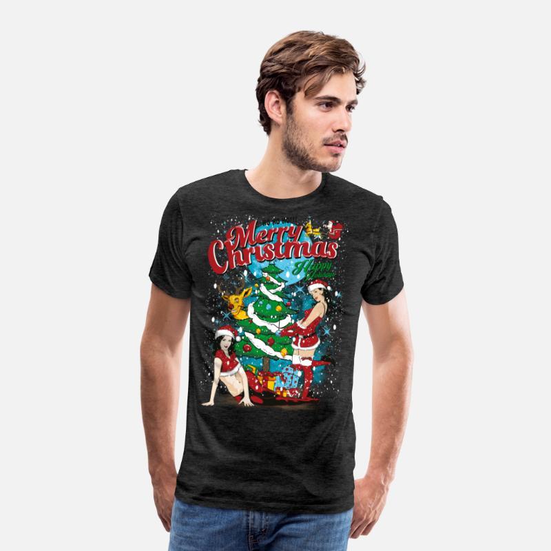 SEXY GOD JUL - Sexig Jul kvinna skjorta Premium T-shirt herr ... 8025bee892725