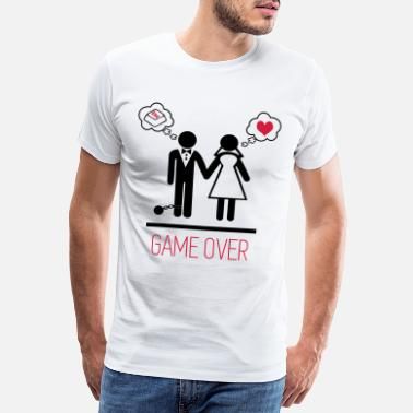 Game game over 3 - 2 - T-shirt premium Homme