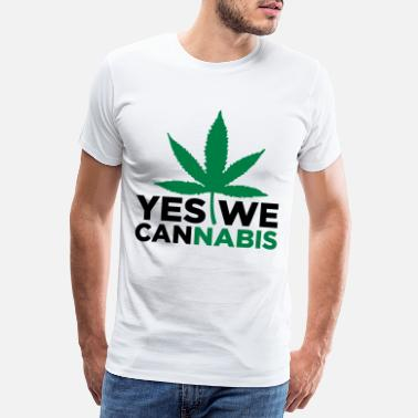 Yes We Cannabis Yes we Cannabis! - Premium T-shirt mænd