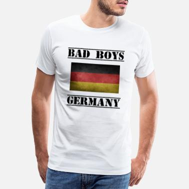 Ger Bad Boys Germany Handball Players - Men's Premium T-Shirt