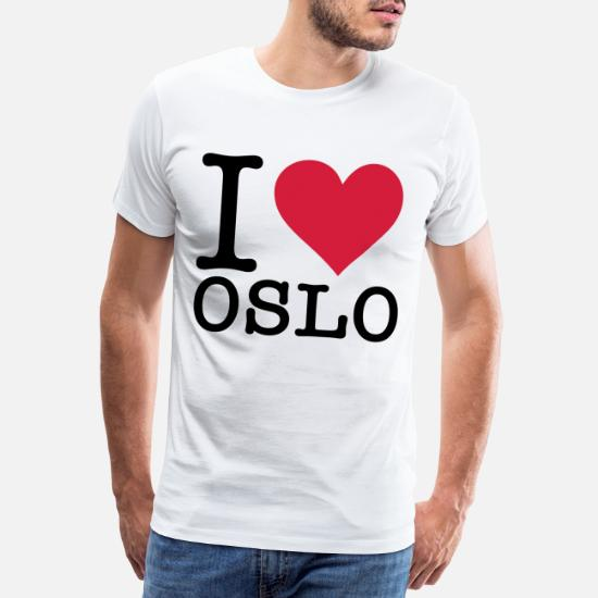 I Love Heart Oslo T-Shirt