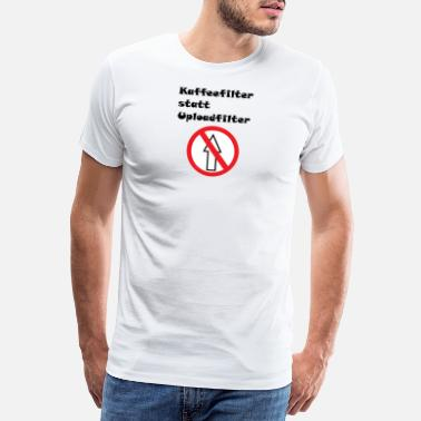 Upload Anti-upload filter - Premium T-shirt herr