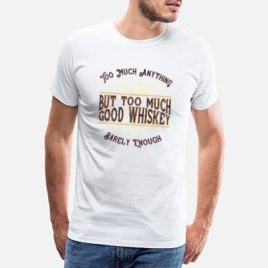 Stemming whisky - Mannen premium T-shirt