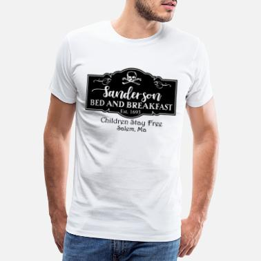 Bed And Breakfast Sanderson bed and breakfast - Premium T-shirt mænd