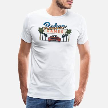 Retro Game Figuren Retro Game - Männer Premium T-Shirt