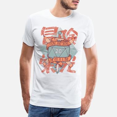 Spreadshirtlikes Trancher et Dicing - DnD Dungeons & Dragons D & D - T-shirt premium Homme