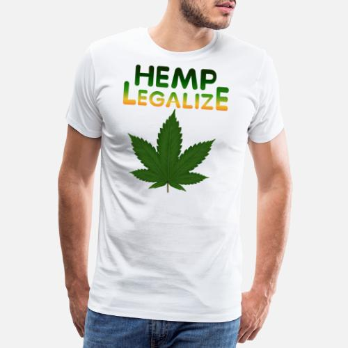 d1cce45d Legalize Hemp Manner Premium T Shirt Spreadshirt