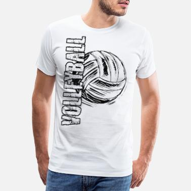 Lace Beach Volleyball Volleyball Game 2reborn - Men's Premium T-Shirt