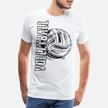 Jean Beach Volleyball Volleyball Game 2reborn - Premium T-skjorte for menn