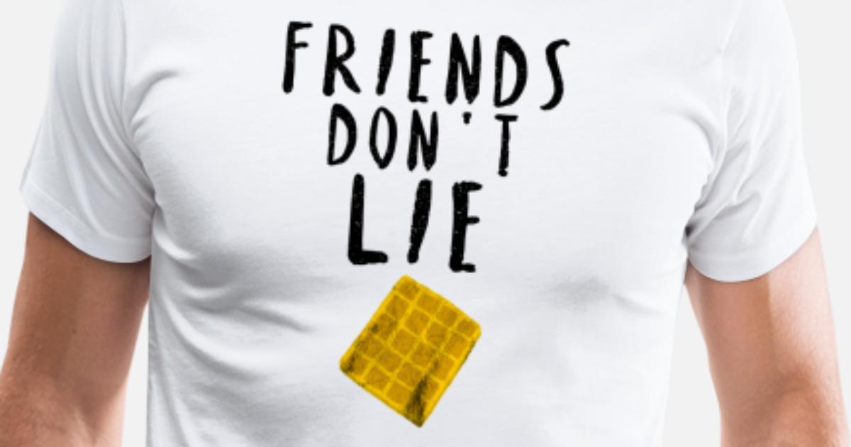 Freunde lügen nicht Bester Freund Geschenk Idee Männer