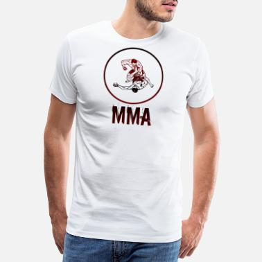 Burkjemper MMA Fight Club Mixed Martial Arts Gift - Premium T-skjorte for menn