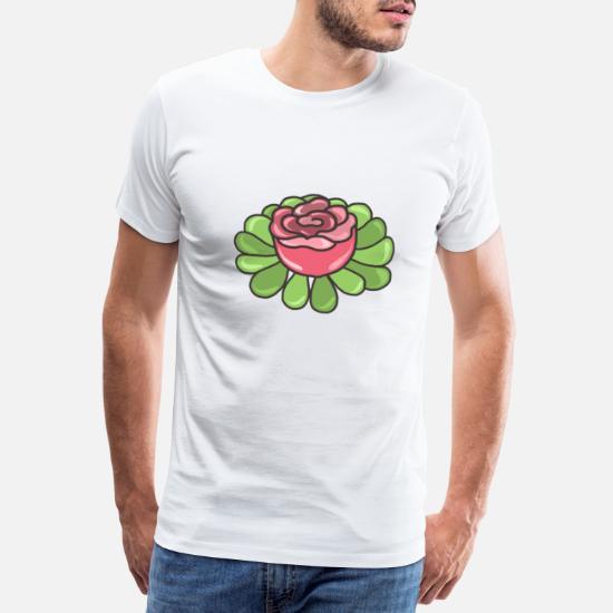 blomster Premium T skjorte for menn | Spreadshirt
