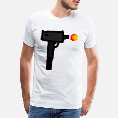 Peng submachine gun - Men's Premium T-Shirt