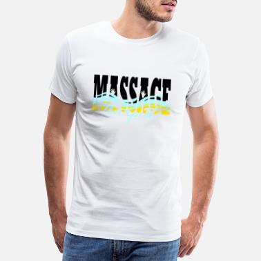 Medical Profession Massage Therapy - Masseur Gift - T-Shirt - Men's Premium T-Shirt