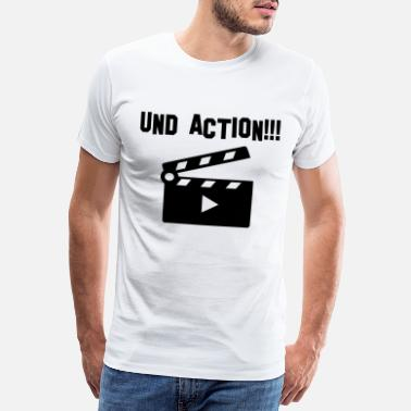 Action And action - Men's Premium T-Shirt