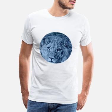 Lion Crown lion - Men's Premium T-Shirt