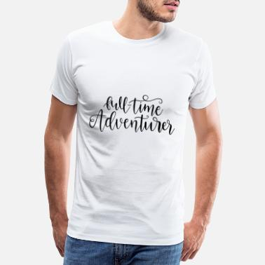 Housing Full time adventurer adventure outdoor motif - Men's Premium T-Shirt