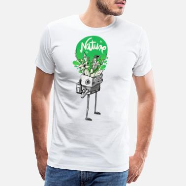 Nature in my mind - Men's Premium T-Shirt