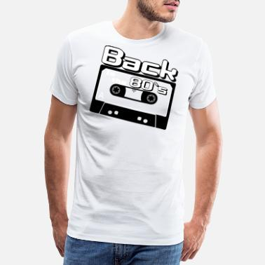 80s 80er Party - Back to the 80s - Kasette - Männer Premium T-Shirt